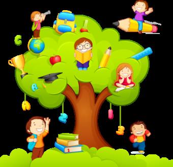 Клипарт Школа, дети