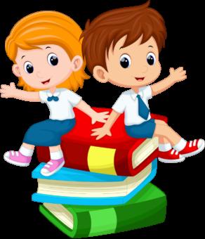 Дети, школа, учебники