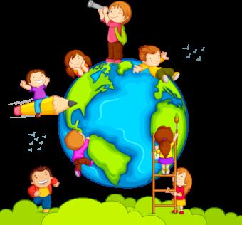 дети, мир