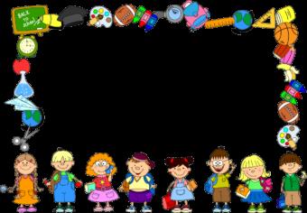 Школьная детская рамка