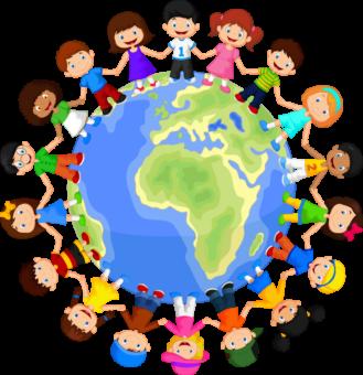 Дети мира, планета