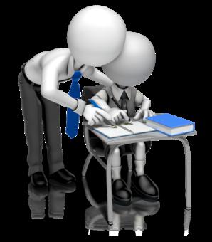 3D, учитель и ученик