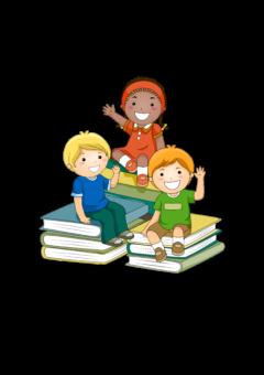 Картинка Дети и Книги