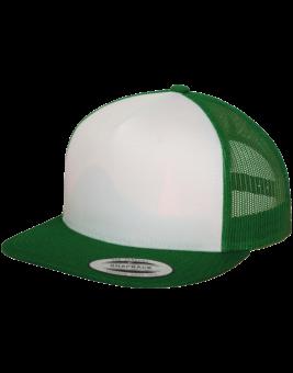зеленая бейсболка мокап